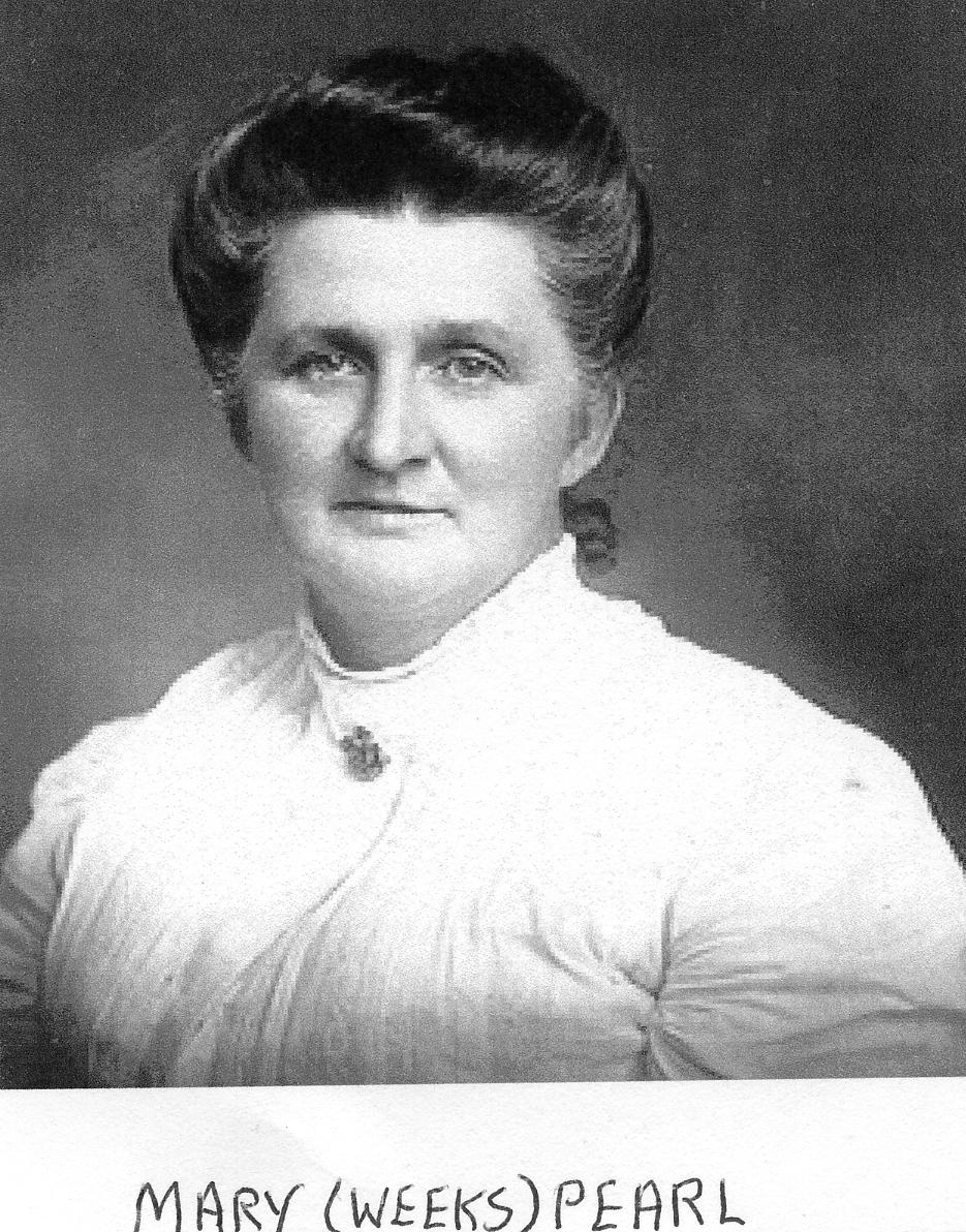Mary Weeks Pearl, 1857-1923